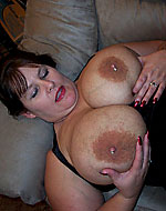 melanie 38g big lactating breasts