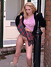 british amateur ayla 24 years old from Surrey naked in public