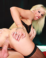 busty british pornstar rebecca more sex in stockings