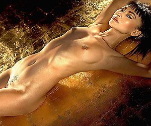 asian movie star bai ling nude